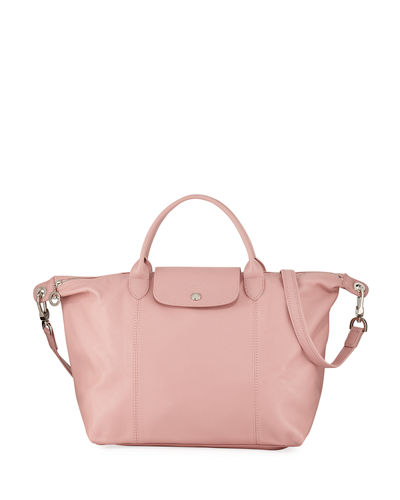 397a45fa9695 Le Pliage Cuir Small Leather Top-Handle Bag with Strap. Add to favorites.  Add to Favorites Add to favorites. Quick Look. BLUSH. Longchamp