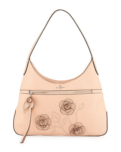 Martina Leather Hobo Bag