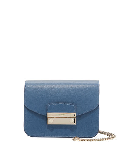 Julia Mini Leather Crossbody Bag
