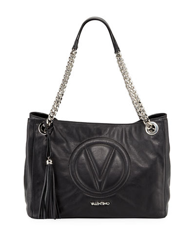 Verra Sauvage Leather Tote Bag