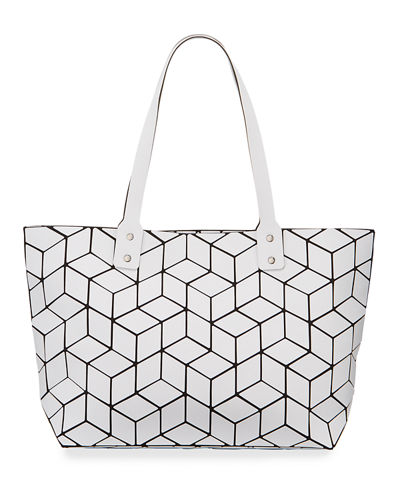 Geometric Tiled Large Tote Bag