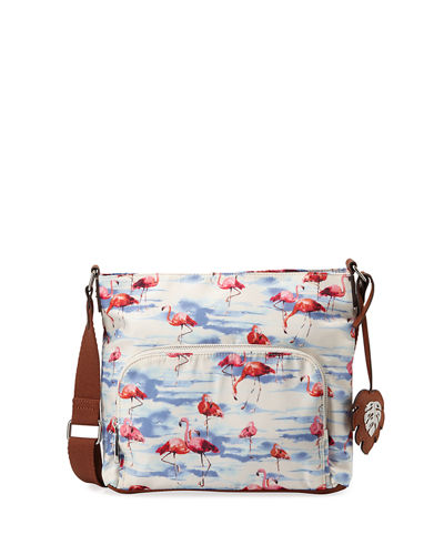Siesta Key Polyester Crossbody Bag