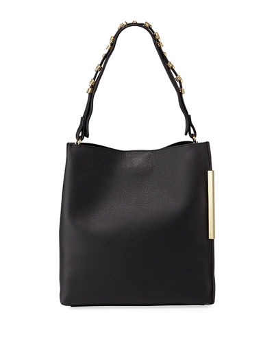 Chelsea Pebbled Leather Hobo Bag