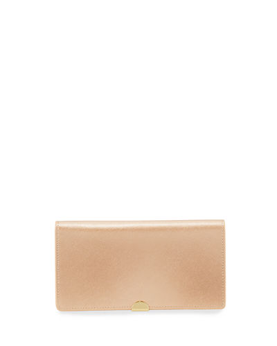 Saffiano Bifold Wallet with Zip Pouch
