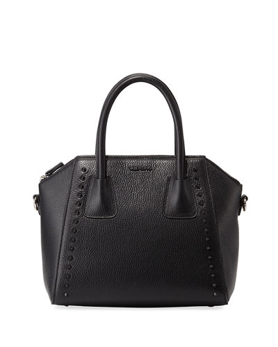 Minimi Preciosa Leather Satchel Bag