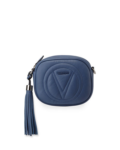 Nina Sauvage Leather Crossbody Bag