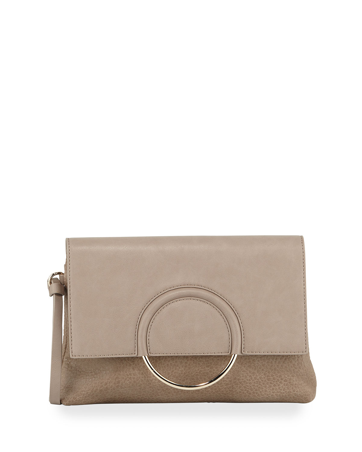 Urban Originals TEXTURED RING CLUTCH BAG