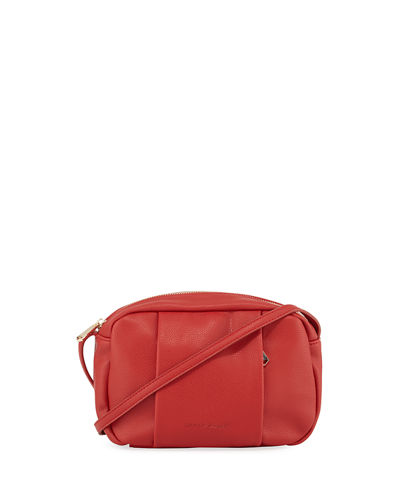 Faux-Leather Small Crossbody Bag