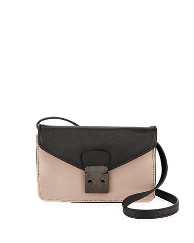 Dylan Small Flap-Top Crossbody Bag
