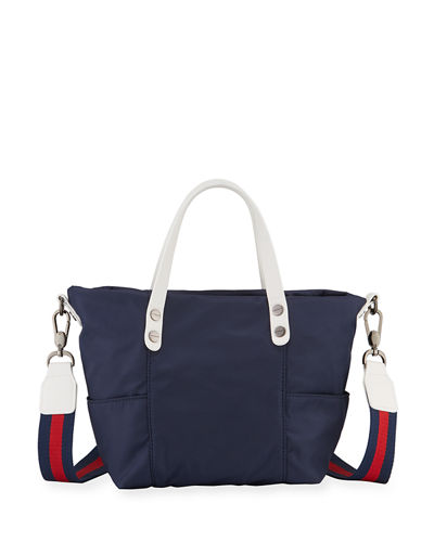Peyton Mini Nylon Crossbody Bag