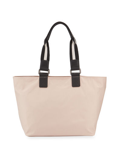 Kaia Medium Zip-Top Nylon Tote Bag