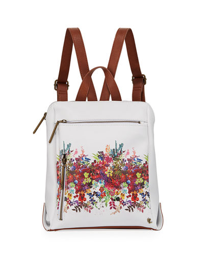 Olvera Floral-Printed Tall Backpack