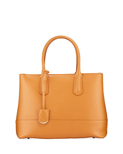 Semi Structure Saffiano Tote Bag