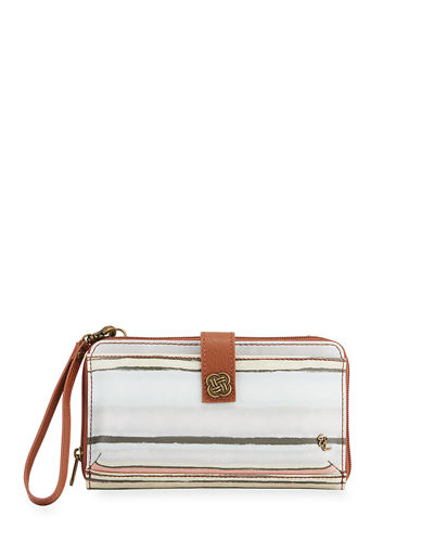 Theo Floral Smartphone Crossbody Bag