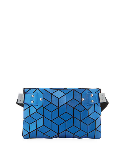 Geometric Tiled Small Belt Bag