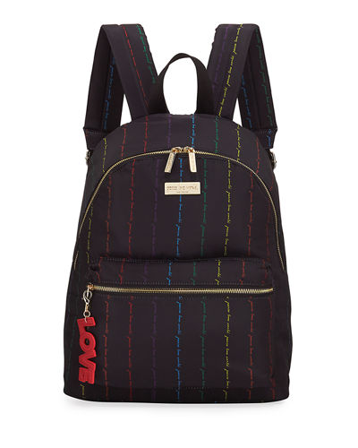 Classic Canvas Zip-Top Medium Backpack