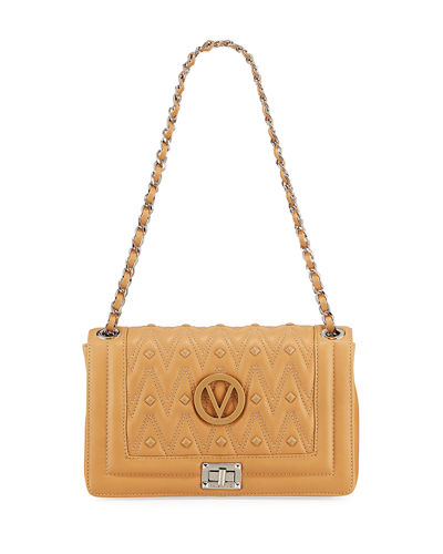 Alice Medium Quilted Shoulder Bag
