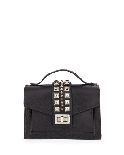 Titti Studded Leather Crossbody Bag