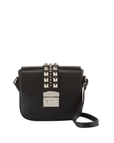 Melodie Studded Leather Crossbody Bag