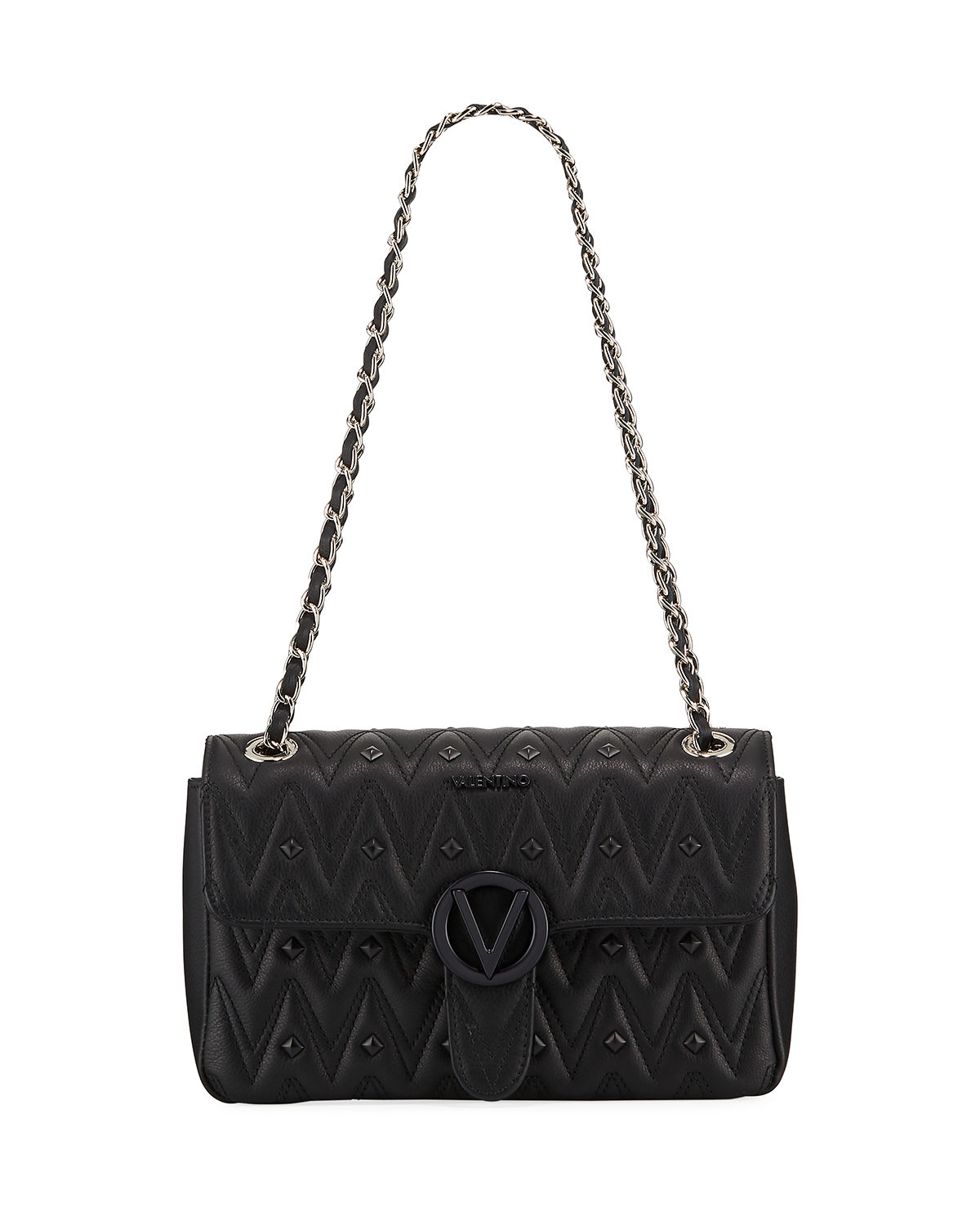 Valentino By Mario Valentino ANTOINETTE MEDIUM QUILTED SHOULDER BAG