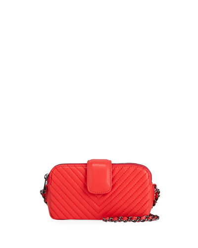 Mia Quilted XS Wallet Crossbody Bag