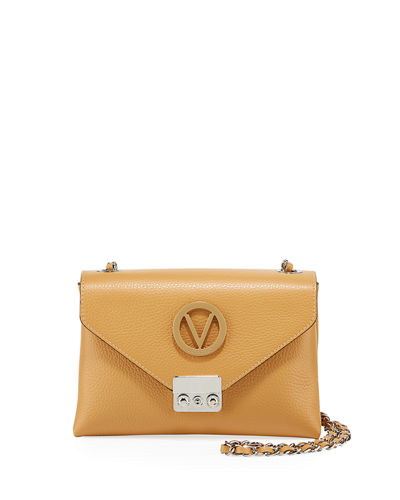 Isabelle Small Leather Crossbody Bag