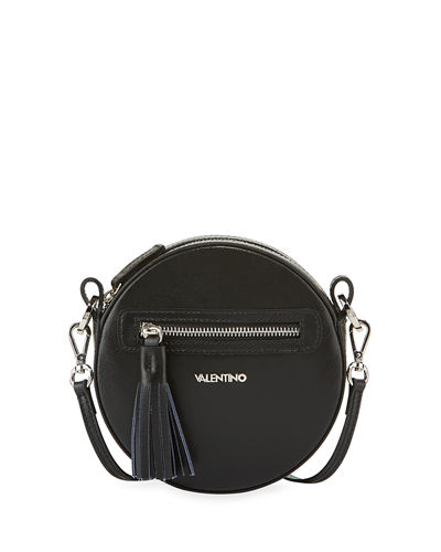 Henriette Small Round Crossbody Bag