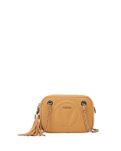 Dalila Small Leather Crossbody Bag