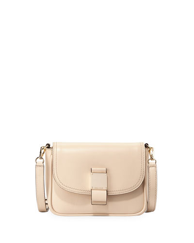 Leather Flap Top Belt Bag