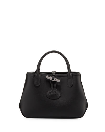 Roseau Medium Leather Crossbody Bag