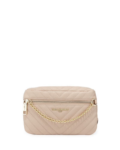 Charlotte Small Quilted Belt Bag