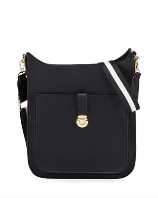 NEIMAN MARCUS | Sporty Saddle Medium Crossbody Bag | Goxip