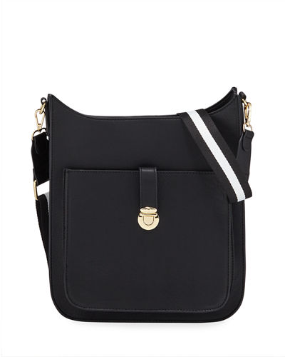 Sporty Saddle Medium Crossbody Bag