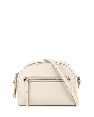 Amy Small Zip-Top Crossbody Bag