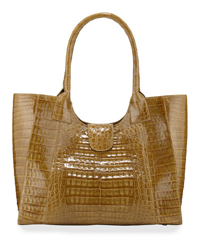 Crocodile Large Tote Bag
