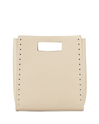 Cecily Cutout Studded Tote Bag