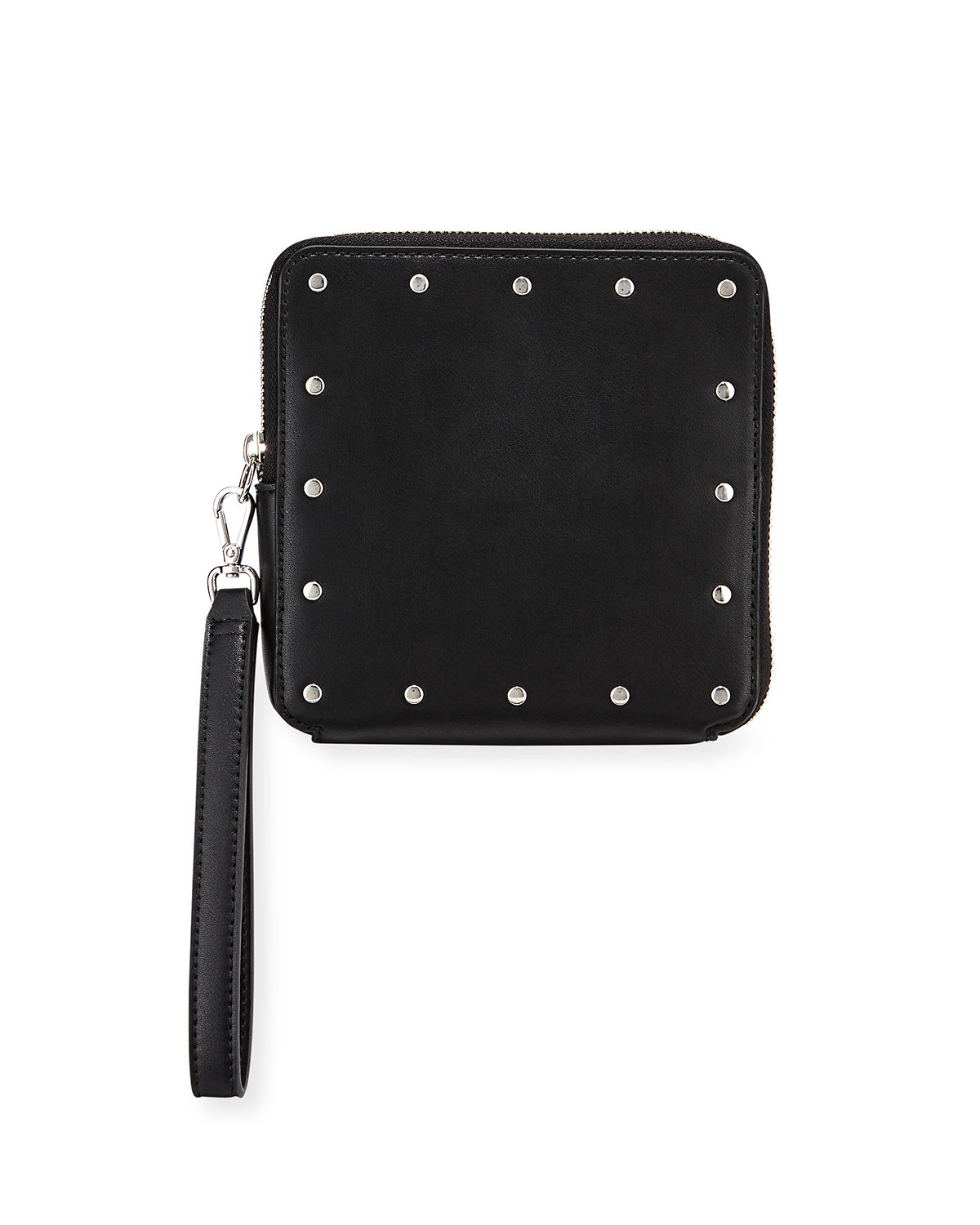 Cecily Square Studded Wristlet Bag