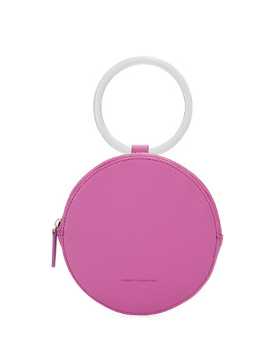 Dante XS Round Ring-Handle Wristlet Bag