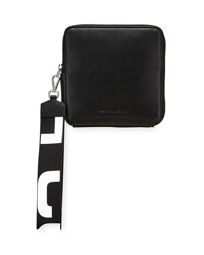 Norine Square Zip-Around Wristlet Bag