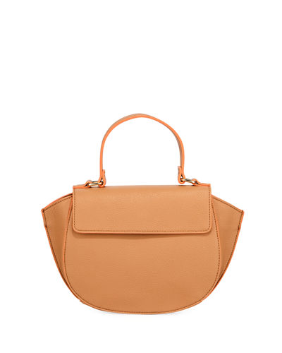 Azita Medium Pebbled Satchel Bag