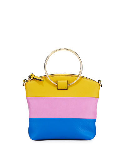 Halo Colorblock Small Crossbody Bag