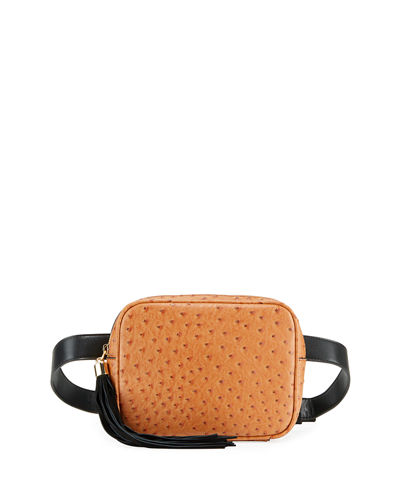 Tatiana Faux-Leather Belt Bag
