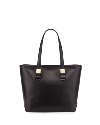 Tali Small Leather Tote Bag