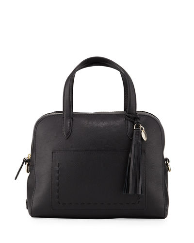 Payson Leather Satchel Bag