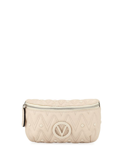 Quilted Leather Belt Bag/Fanny Pack