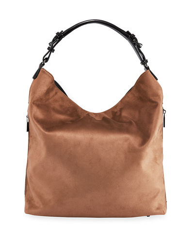 Slouchy Suede Hobo Bag