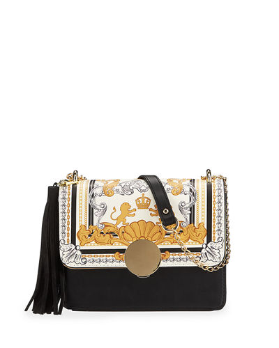 Irina Printed Clutch Bag