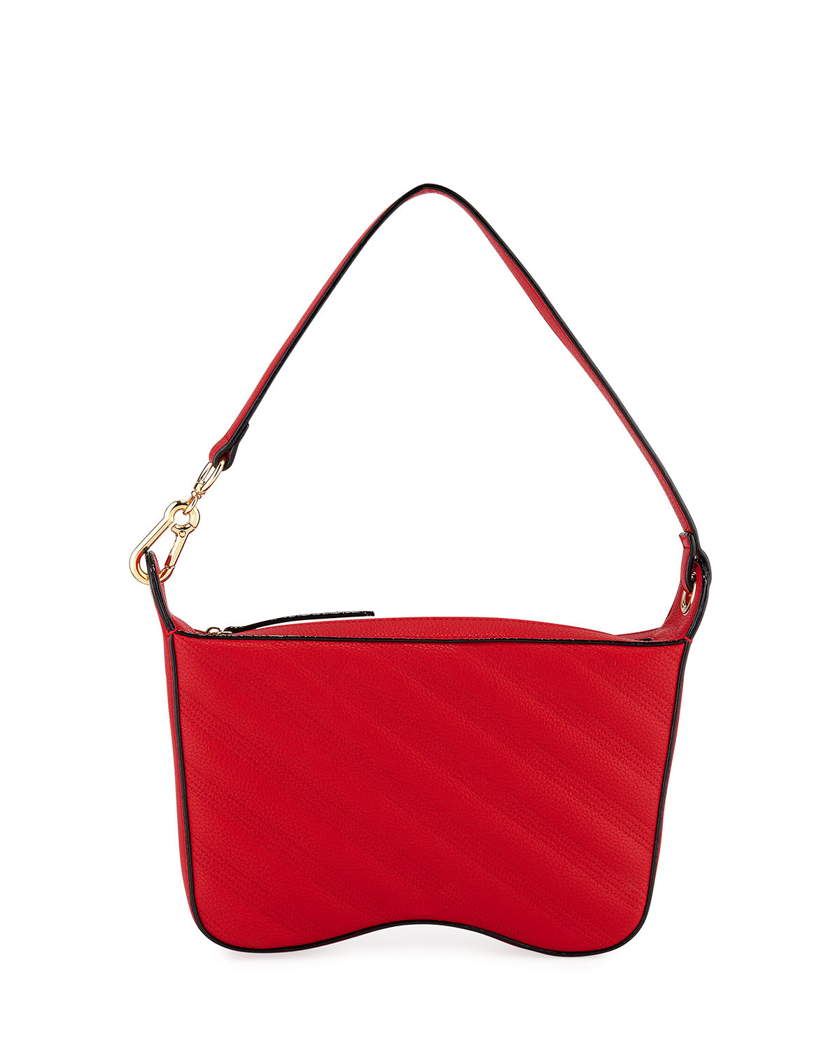 Naomi Quilted Double Saddle Shoulder Bag
