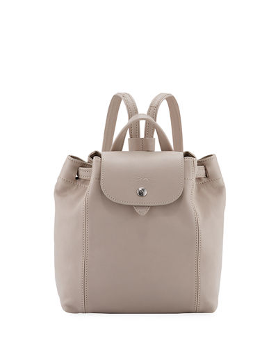 Le Pliage Cuir XS Leather Backpack