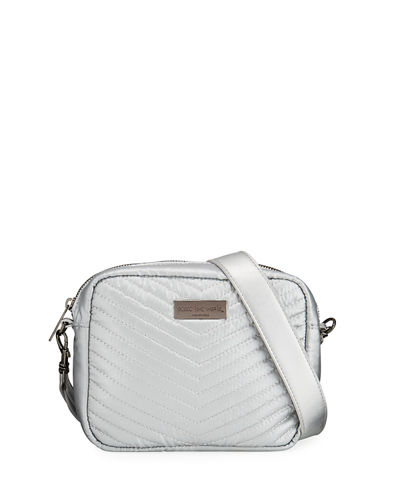 Quilted Crossbody Camera Bag